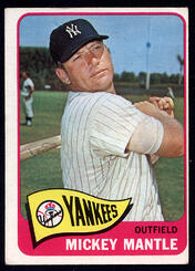 1965 Topps Mantle