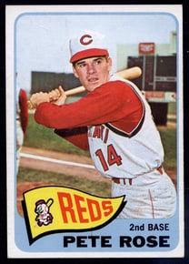 1965 Topps Pete Rose