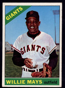 1966 Topps Willie Mays