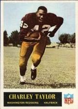 1965 Philadelphia Charley Taylor