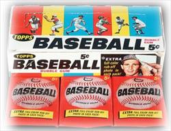 1966 Topps Baseball Wax Box and Wax Packs