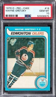 1979 O-Pee-Chee #18 Wayne Gretzky PSA 10 Rookie Card