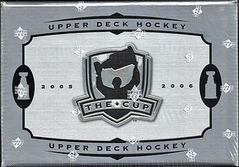 2005 Upper Deck The Cup Hockey Wax Box