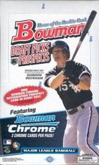2009 Bowman Draft Baseball Wax Box