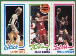1980 Bird/Magic Rookie Card