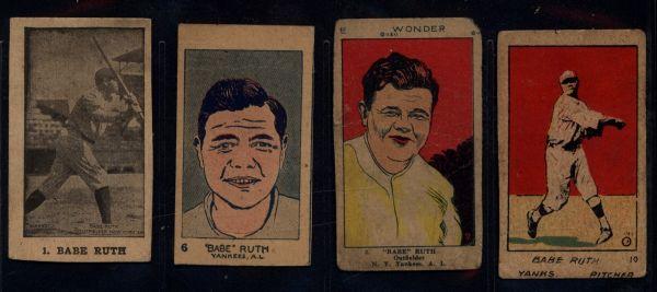 Babe Ruth Strip Cards