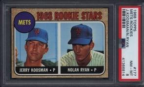 1968 Topps #177 Nolan Ryan PSA 8