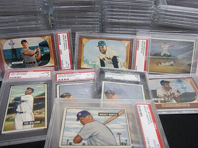 PSA Graded Cards Willie Mays