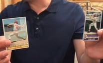 A few cards from the Gary Vaynerchuk and Leighton Sheldon break