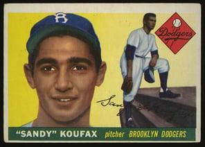 1955 Topps Sandy Koufax Rookie