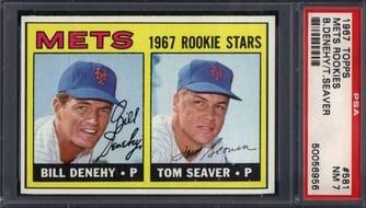 1967 Topps Tom Seaver Rookie Card