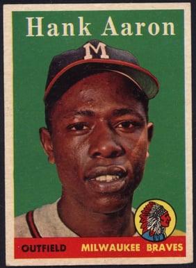 1958 Topps Hank Aaron