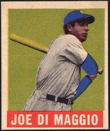 1948 Leaf Joe DiMaggio