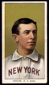 1909-1911 T206 Willie Keeler Portrait