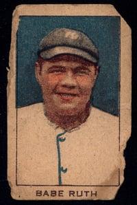12920 w519-2 Unnumbered Babe Ruth