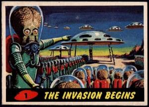 1962 Topps Mars Attacks!