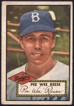 1952 Topps Pee Wee Reese