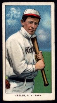 1909-1911 T206 Willie Keeler with Bat