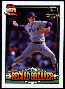 1991 Topps Desert Shield Nolan Ryan