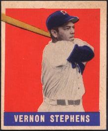 1948 Leaf Vernon Stephens