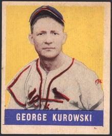 1948 Leaf George Kurowski