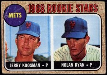 1968 Topps #177 Nolan Ryan