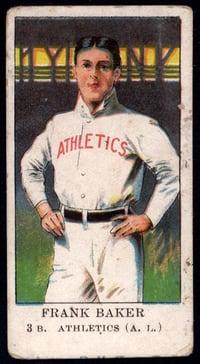 1909 E91 Set B Frank Baker