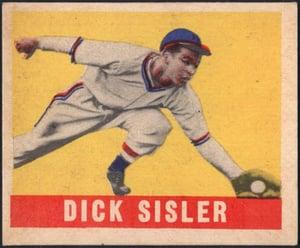 1948 Leaf Dick Sisler