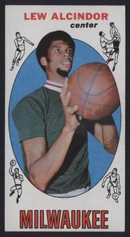 1969 Topps Lew Alcindor