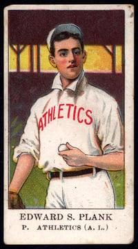 1909 E91 Set B Eddie Plank