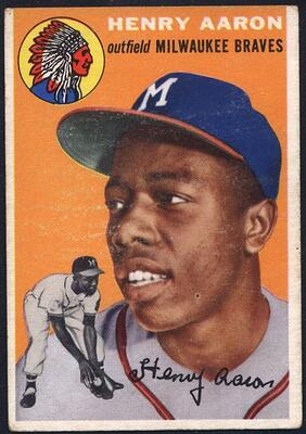 1954 Topps Hank Aaron