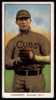 1909-1911 T206 Carl Lundgren Chicago NL