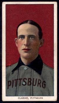 1909-1911 T206 Fred Clarke Portrait