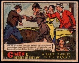 1936 G-Men & Heroes of the Law