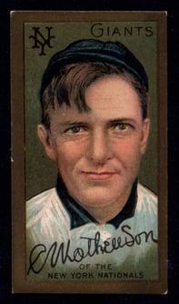 1911 T205 Christy Mathewson
