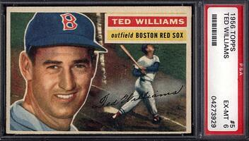 1956 Topps #4 Ted Williams