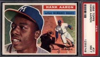 1956 Topps #31 Hank Aaron