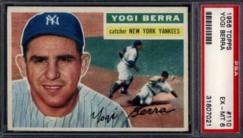 1956 Topps Yogi Berra