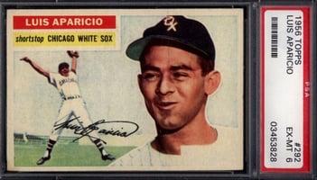1956 Topps #292 Luis Aparicio