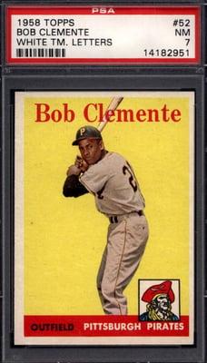 1958 Topps Roberto Clemente