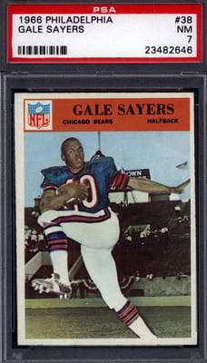 1966 Philadelphia Gale Sayers rookie