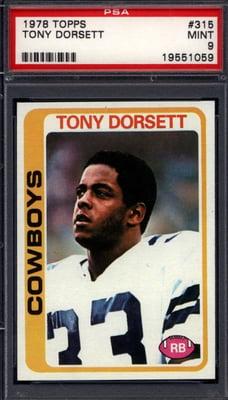 1978 Topps Tony Dorsett