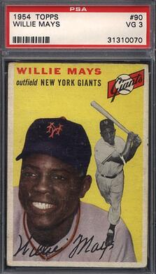 1953 Topps Willie Mays