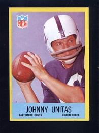 1967 Philadelphia #23 Johnny Unitas Colts
