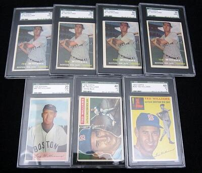 Graded Ted Williams Cards