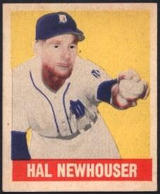 1948 Leaf Hal Newhouser