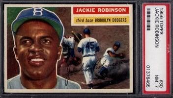 1956 Topps Jackie Robinson