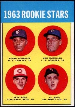 1963 Topps #537 Pete Rose